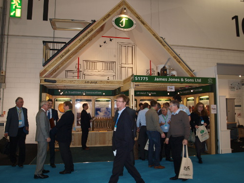 Busy Ecobuild stand