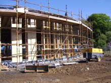 Linburn Centre under construction