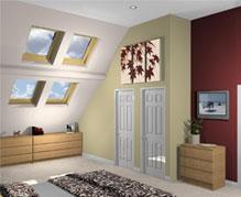3d loft space render