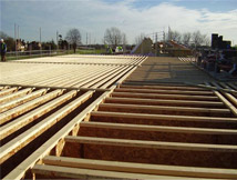 meadowfield school floor joists