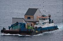fair isle observatory on boat