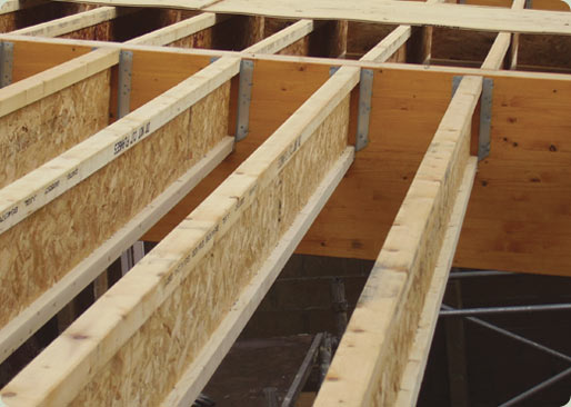 Jji joists james jones joists timber division home for Floor joist span