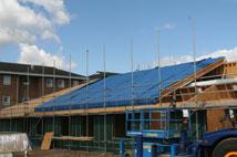 st lukes hospital roof